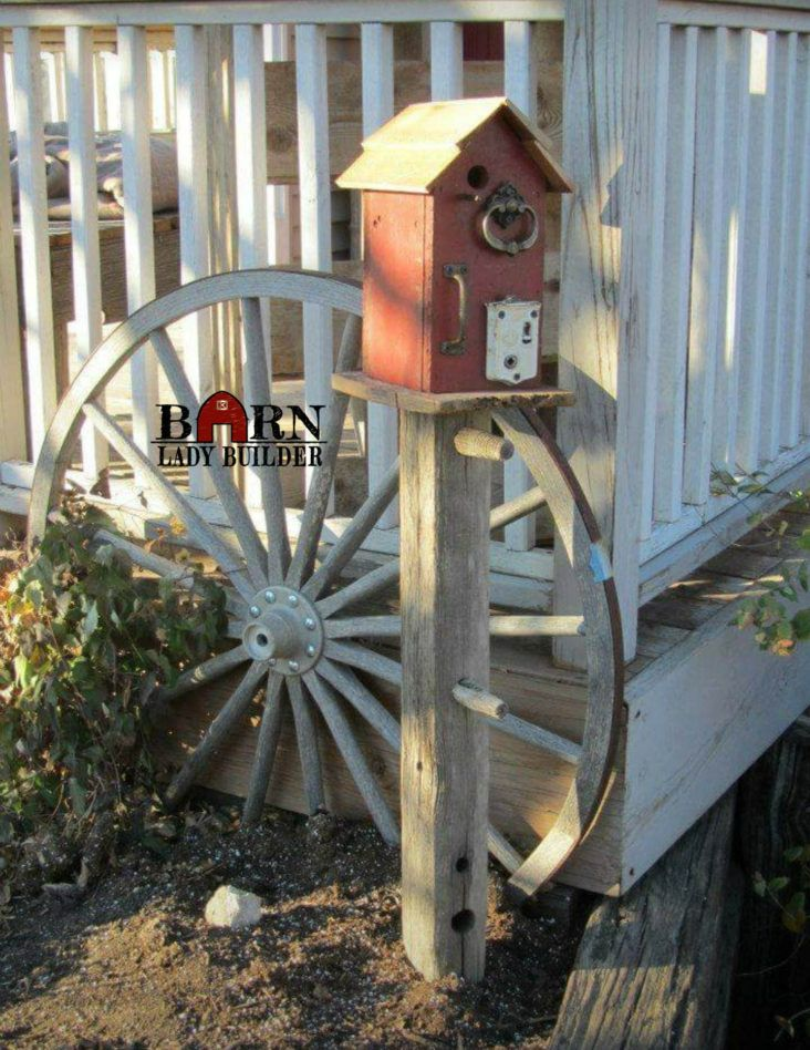 Birdhouses by | birdhouses by Barn Lady Builder | Bird houses, Old