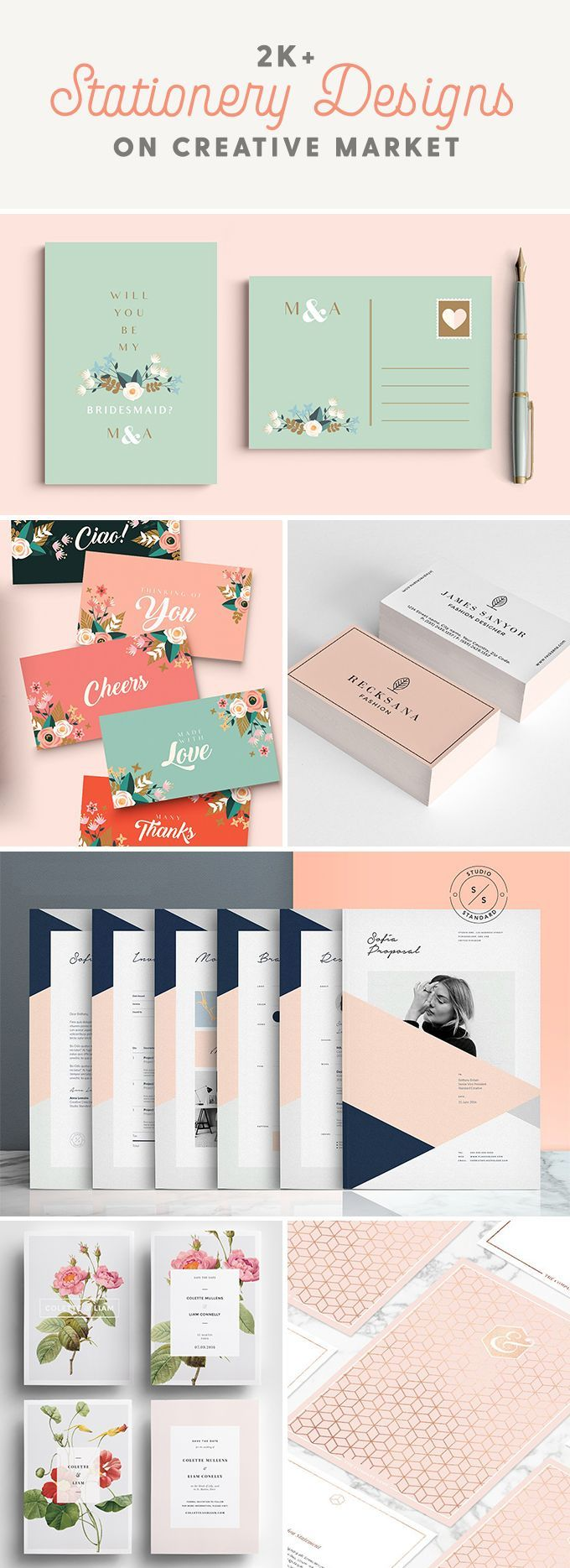Printable stationery templates that you'll love