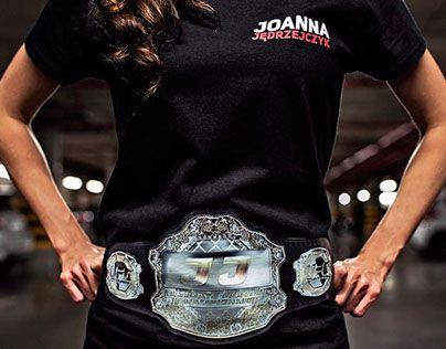"""Check out new work on my @Behance portfolio: """"Joanna Jedrzejczyk T-shirt"""" http://on.be.net/1MjClDt"""