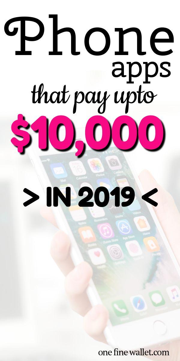 HÖCHSTE zahlende Apps im Jahr 2019 (bis zu 10.000 USD)