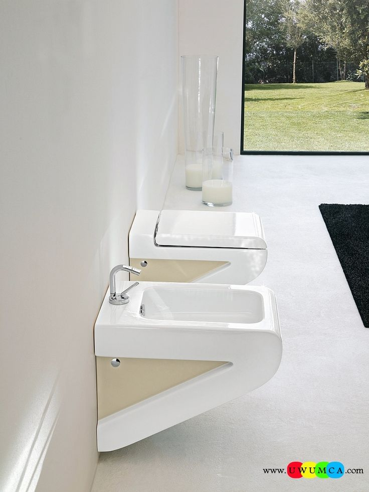 17 best images about wall hung sanitary solutions for the - Small space toilet and sink ...
