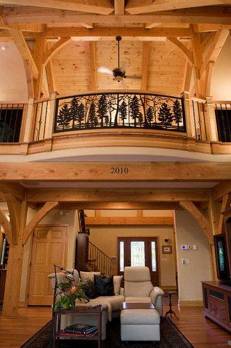 Custom Home - Timber Frame Dream - contemporary - entry - philadelphia - Metzler Home Builders