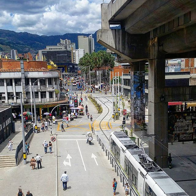 The metro in Medellin is the only one in Colombia. Built at the height of the…