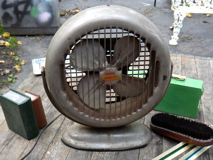 Fan, Model 52 Bond Fan, Bond Air Fan, Recirculator Fan, Atomic Age, Prop, Industrial Fan, Tilting Swiveling Fan, Man Cave, Casa Karma Decor by CasaKarmaDecor, $58.00 USD