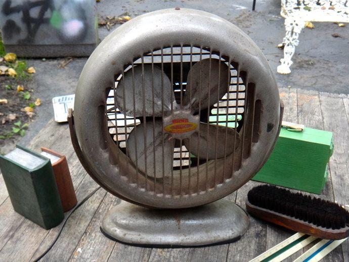 Fan, Model 52 Bond Fan, Bond Air Fan, Recirculator Fan, Atomic Age, Prop, Industrial Fan, Tilting Swiveling Fan, Man Cave, Casa Karma Decor by CasaKarmaDecor, $58.00 USD