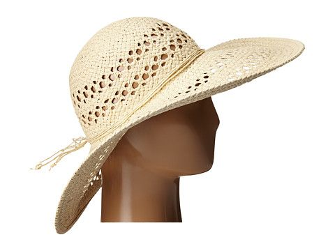 San Diego Hat Company PBL3068 Open Weave Floppy Hat with Self Tie
