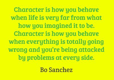Character is ...Quotes 3, Quotes Sayings
