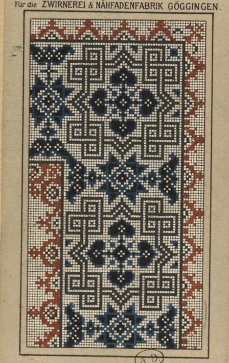 Gallery.ru / Фото #81 - старинные ковры и схемы для вышивки - SvetlanN