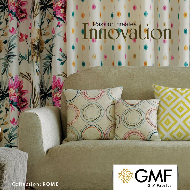 Use our #Innovations and adorn your #Home to make it look #Modish!! Explore more at www.gmfabrics.com #GMF #GMFabrics #HomeInterior #HomeFabrics #Furnishings #FloralCollection