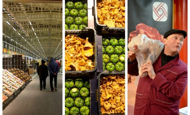 Je vous emmène visiter le marché de Rungis près de Paris, le plus grand marché de produits frais au monde !