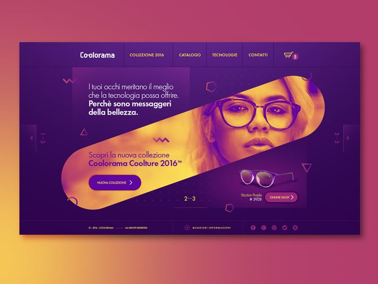Coolorama - Ui Design by Julian Hoxhaj - Dribbble