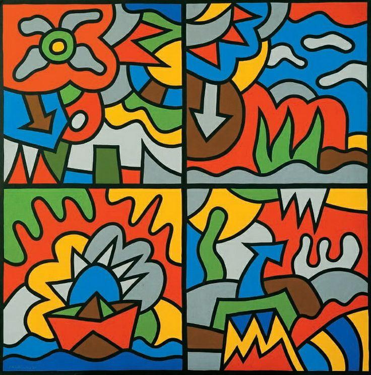 Ακριθάκης Αλέξης-Τέσσερις ιστορίες, 1990