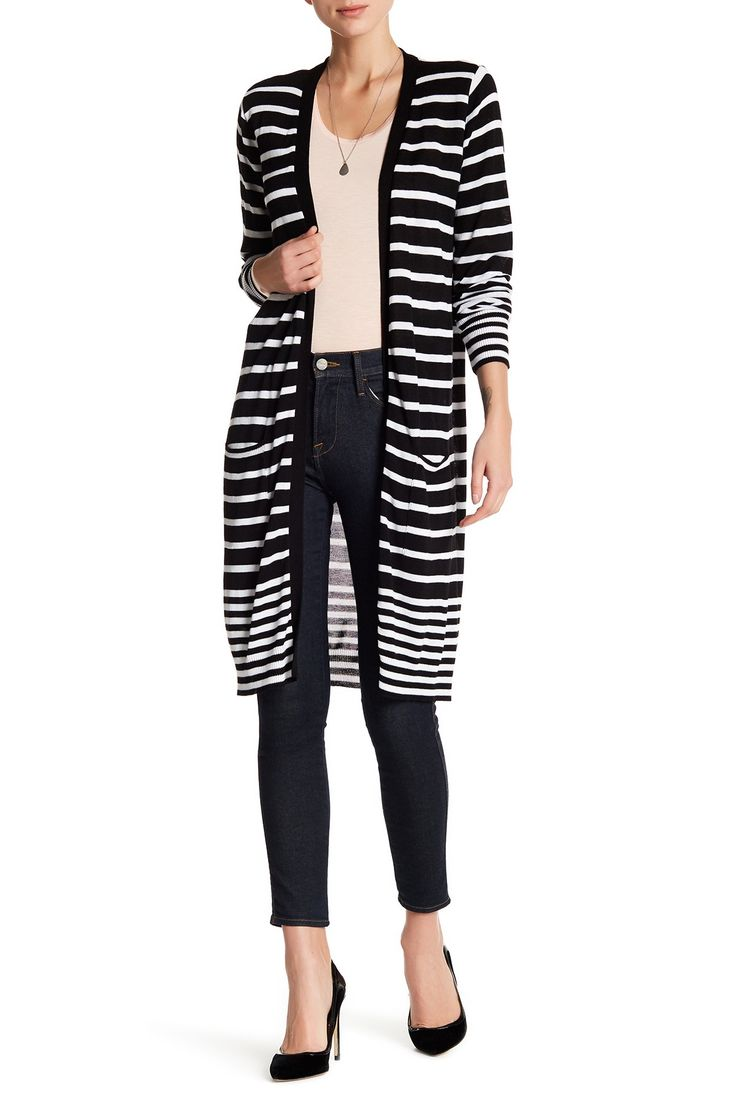 Striped Cardigan by JOSEPH A on @nordstrom_rack