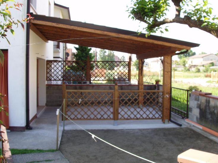 Tetti e tettoie in legno a Rovigo, Verona, Vicenza, Mantova e Ferrara