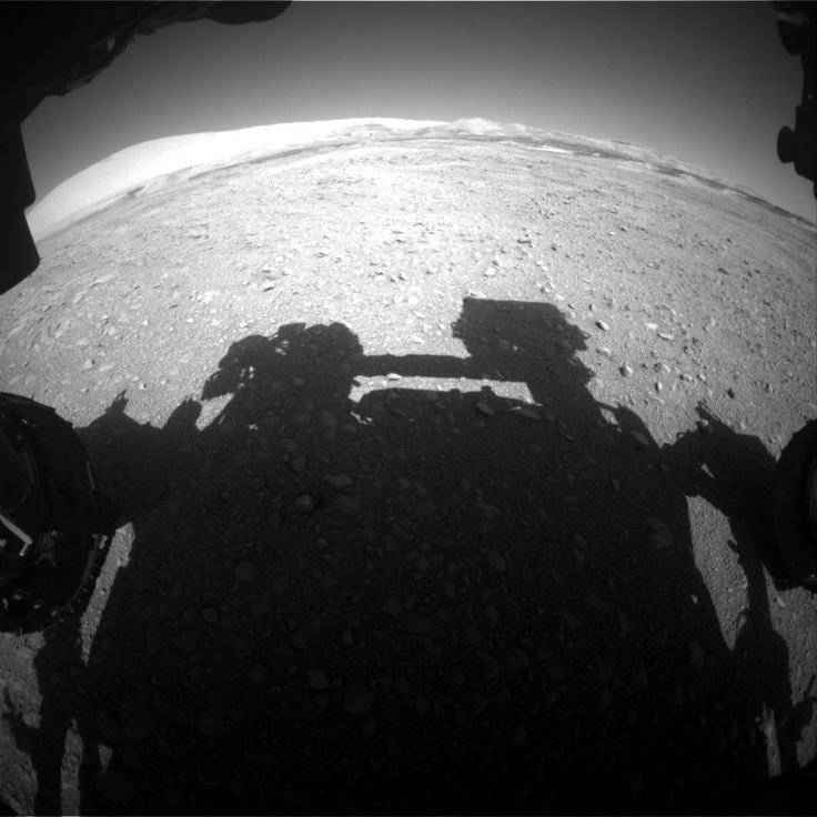 NASA's Mars rover Curiosity acquired this image using its Front Hazard Avoidance Cameras (Front Hazcams) on Sol 1889