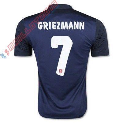 Nouveau maillot de foot GRIEZMANN Atletico Madrid extérieur 2016 €21.99
