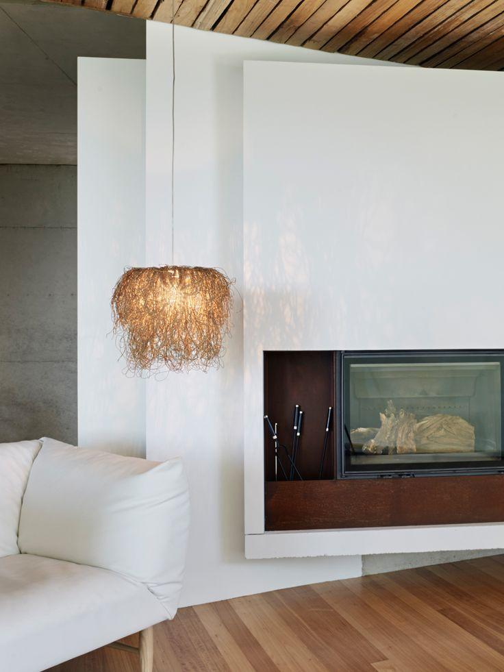 Caos pendant lamp arturo alvarez handmande unique lighting unique handmade shapes