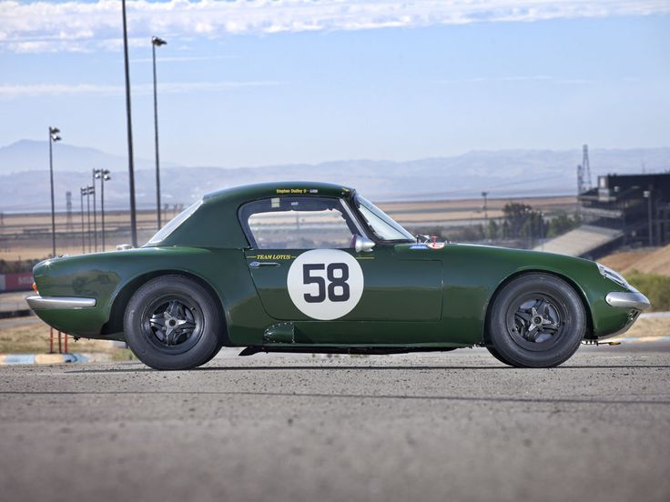 Saw a lotus Elan street car the other day! I was pretty excited!  1964 Lotus Elan 26R Factory Race Car