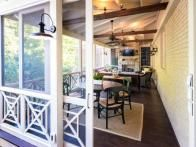 27 Best Screened Porch With Fireplace Images On Pinterest