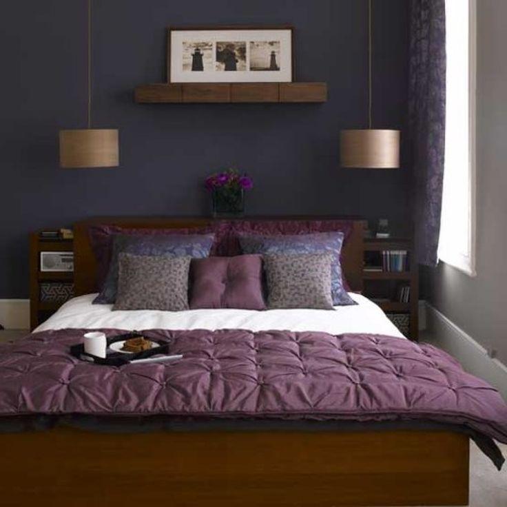 25 Stunning Transitional Bedroom Design Ideas: 1000+ Ideas About Purple Gray Bedroom On Pinterest