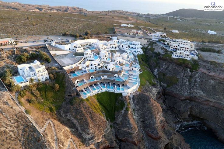 Enjoy luxurious stay at #Ambassador and tempt your senses in the most thrilling holiday destination! More at ambassadorhotelsantorini.com/