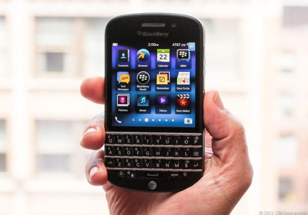 BlackBerry Q10 Review - Watch CNETs Video Review. 6 months too late for me :(