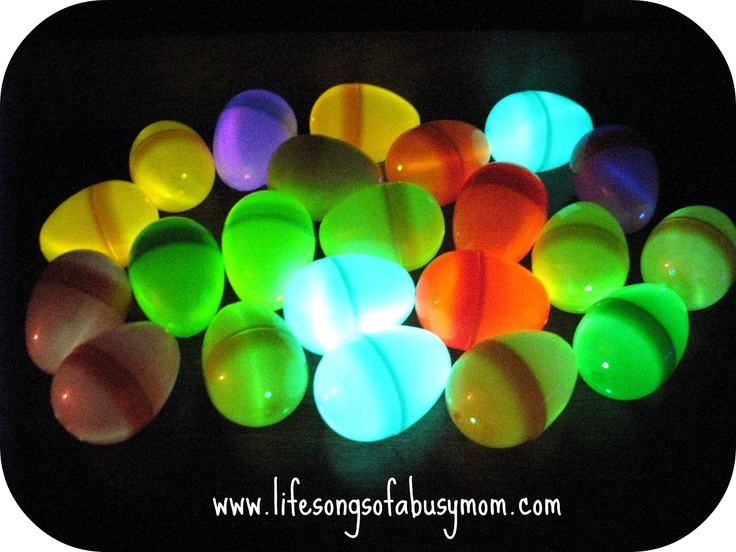 Life Songs Of A Busy Mom: Glowing Easter Egg Hunt