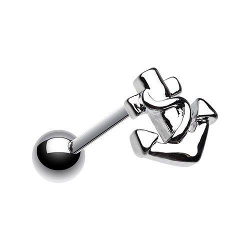 PIERCING LANGUE ANCRE http://www.aiapiercing.com/piercing-langue Découvrez une large gamme de bijoux de langue sélectionnée par AIAPIERCING http://www.aiapiercing.com #piercing #ancre #piercinglangue