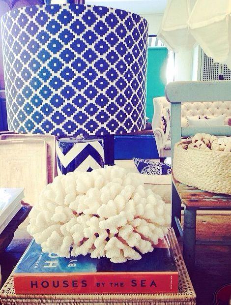 Bit of beach house love this afternoon #love #magnolia #coral #rattan #navy #beachhouse #coastal #interiors #magnoliainteriors