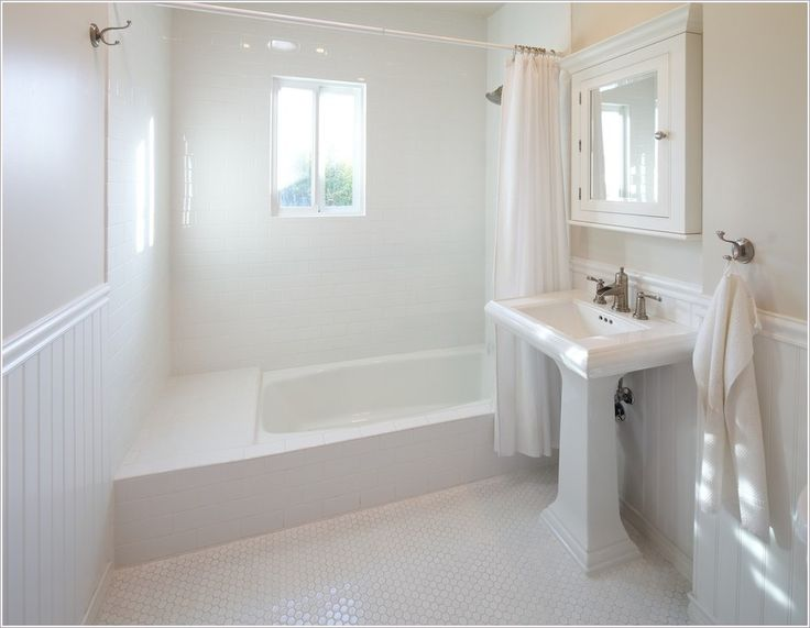 beadboard and tile bathroom thanks to david lauer photography at