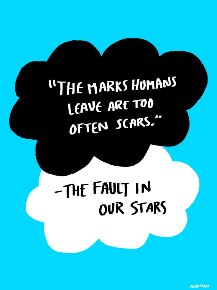 the fault in our stars quotes | Favorite Quotes from 'The Fault in Our Stars' by John Green
