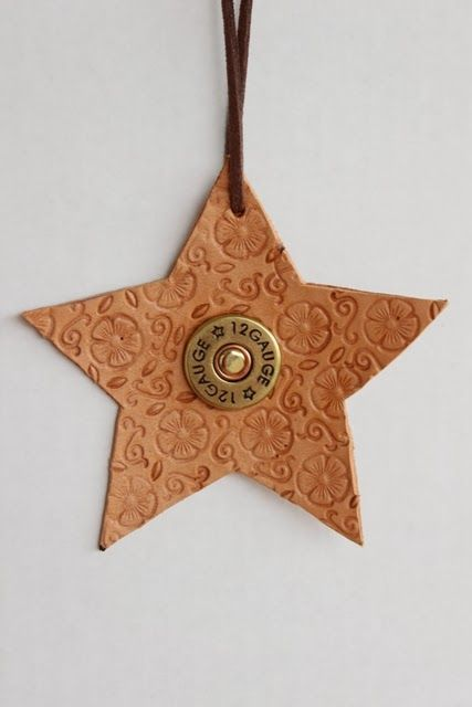 DIY Create different designs ~~ of Leather Ornaments!