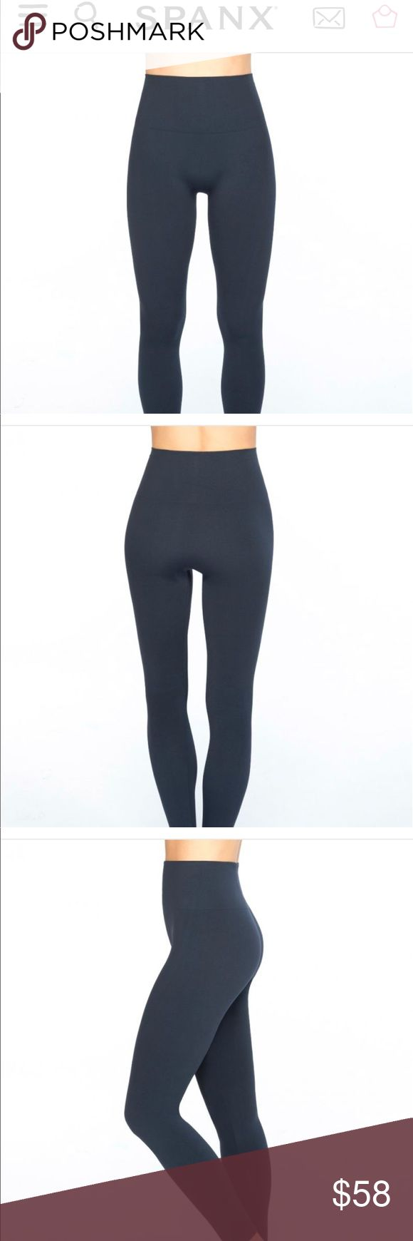New Look at me now Navy Spanx Leggings Brand new, never worn and from a smoke free home!  Size small. SPANX Pants Leggings