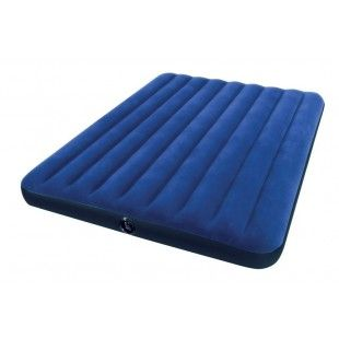 Matelas gonflable 2 places Intex Downy Classic XL 203 x 152 x 22 cm