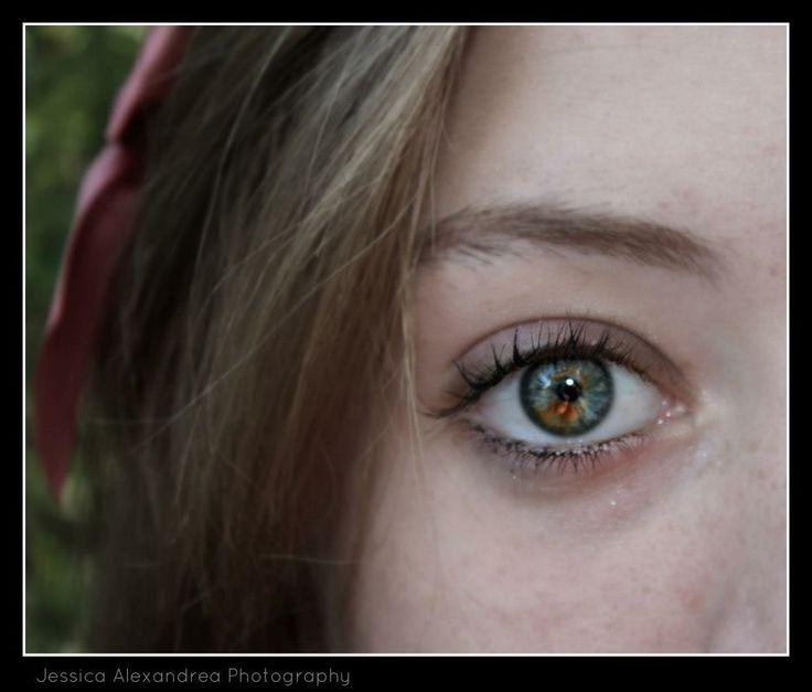 Natural Beauty, My little sister's eye.