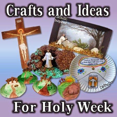 Holy Week Crafts and Ideas - Catholic Inspired | Holy Week ...