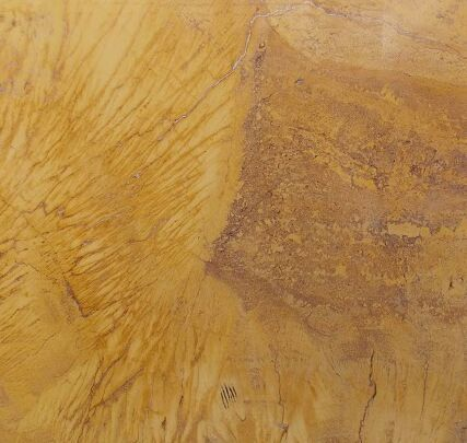 This is our Yellow travertine Limestone - Gold tones with rusty brown patches