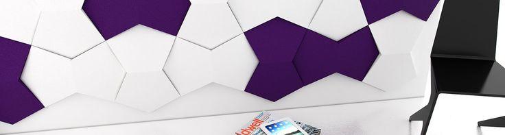 Fluffo, Fabryka Miękkich Ścian. Miękkie panele ścienne 3D, kolekcja CHAIN.