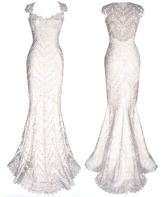 If I were to ever marry.  #FiftyYearOldFirstTimeBride  .... Claire Pettibone Chantilly Art Nouveau 2008 Collection  Beaded If I wqivory cotton lace mermaid gown with sweetheart neckline and sheer back. $5000-$7000: Weddingdress, Wedding Dressses, Clear Pettibone, Style, Wedding Dresses, Wedding Ideas, Weddings, Dream Wedding