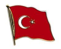 Turkish flag pin