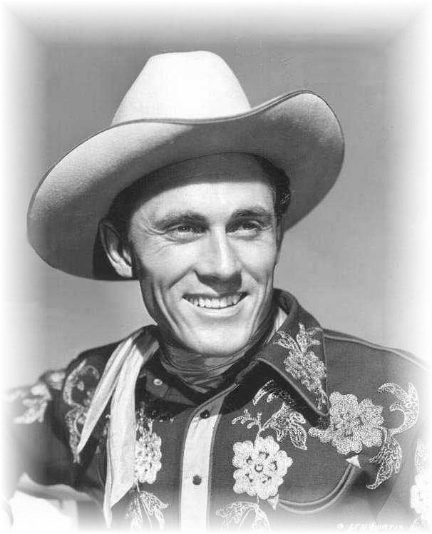 """Ken Curtis (1916 - 1991) """"Ken had a wonderful voice, a true voice. He was just like a pitch pipe."""" (quote by Bob Nolan). Ken was later known as Festus on TV's """"Gunsmoke""""."""