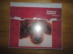 Vintage 1980s 1990s Puppy Dog Mead Trapper Keeper Binder Folder | eBay