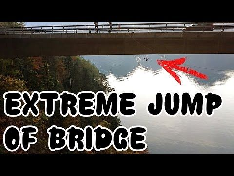 Bridge Jumping - Massive Bridge Jump - GMC Rope Bridge Jumpday 2016