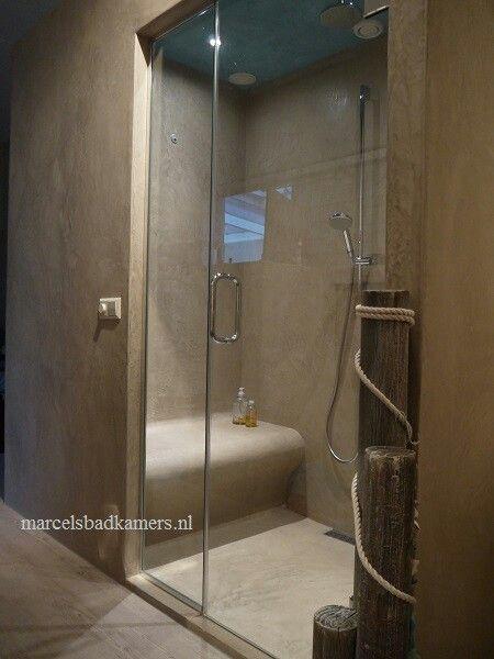 82 best Douche en béton ciré Concrete shower images on Pinterest