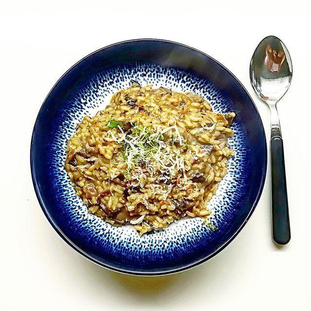 Risotto z suszonymi grzybami projektlepiej projektlepiej cooking gotowanie przepis