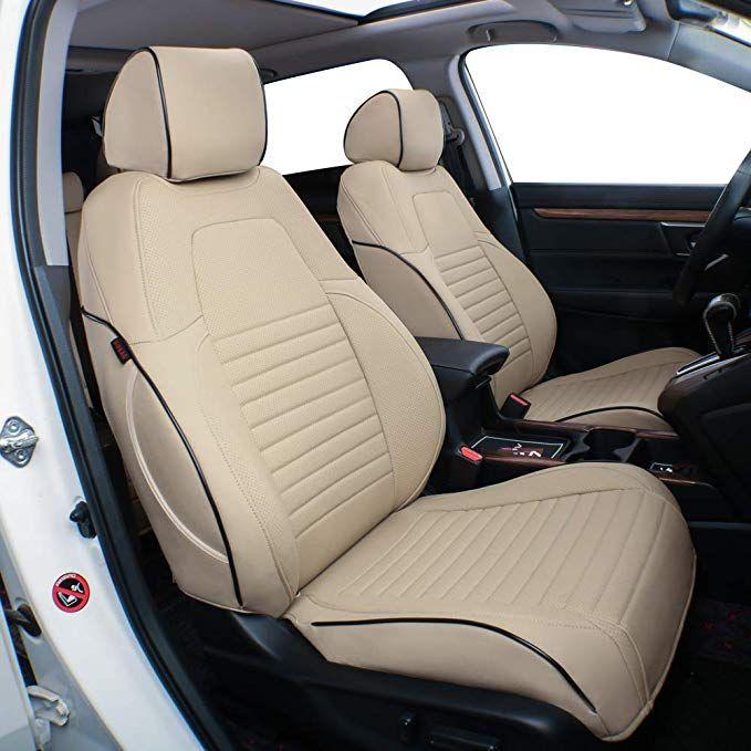 Amazon Com Ekr Custom Fit Full Set Car Seat Covers For Select Honda Crv 2017 2018 2019 2020 Leatherette Beige Automotive In 2020 Car Seats Honda Crv Carseat Cover
