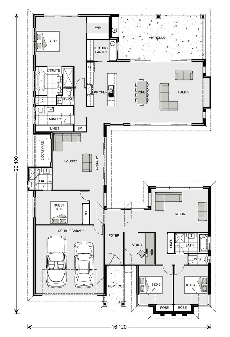 17 best ideas about double storey house plans on pinterest for Gardner flooring