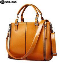 de las mujeres COSSLOO hombro de la manera bolso de la borla de cuero bolsa de dividir las mujeres del bolso bolsas de mensajero bolsos de lujo bolsas de las mujeres del diseñador (China (continental))