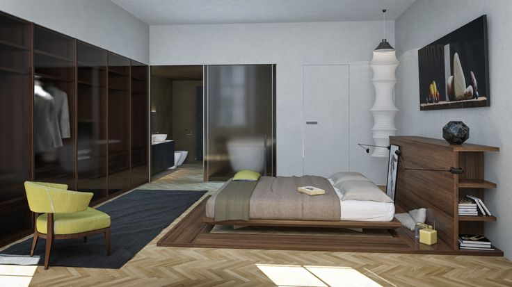 N House | Architecture & Interior Design | Bedroom | Trieste - Italy | RNDR Studio - www.rndrstudio.it