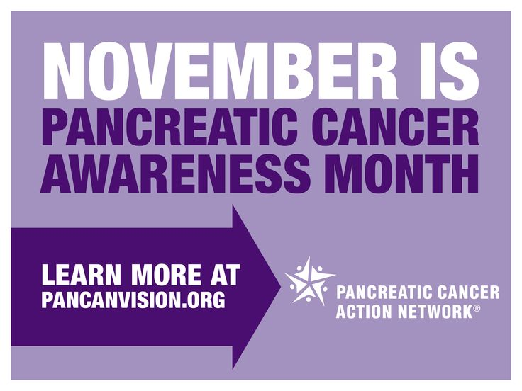 Today kicks off National Pancreatic Cancer Awareness Month! Learn about the Vision of Progress and how you can make a difference then share it with your friends and family. Click here: http://www.pancanvision.org     The Vision of Progress is a comprehensive approach to doubling the pancreatic cancer survival rate by 2020. Take action now!     Click here: www.pancanvision.org